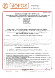 Declaratie de conformitate DIN