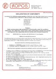 Conformity declaration DIN