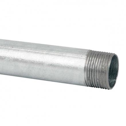 6025 ZN F - ocelová trubka závitová žárově zinkovaná (EN)