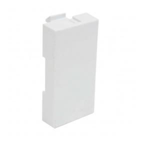 QD 45X22.5-COVER HB - zásuvkový modul QUADRO - krytka datové zásuvky