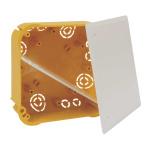 KO 110/L NA - krabice rozvodná s víčkem V 110 L a přepážkou P 110 L