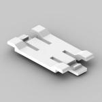 LH 60X40HF - rozpěrka kanálu RLH 60X40HF HB