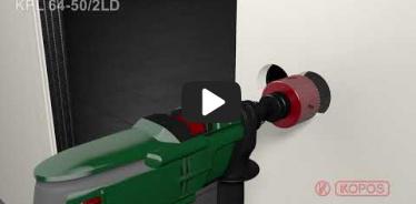Embedded thumbnail for Doza dubla pentru aparataj clasic, instalare in peretii aparenti KPL 64-50/2LD