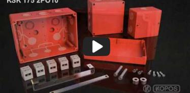 Embedded thumbnail for Instrucțiuni de instalare pentru doza cu menținere a funcționalitătii în foc KSK 175 PO