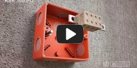 Embedded thumbnail for Instrucțiuni de instalare pentru doza cu menținere a funcționalitătii în foc KSK 100 PO
