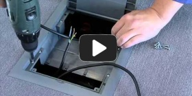 Embedded thumbnail for Installation instruction wiring box into concrete and double floors KOPOBOX