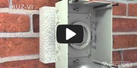 Embedded thumbnail for Instrucțiuni de instalare doză universală KUZ-VI în izolație termică cu capac