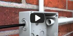 Embedded thumbnail for Instrucțiuni de instalare pentru doza de instalații KSK IP66